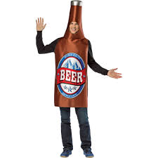 beer bottle cartoon beer bottle men u0027s halloween costume walmart com