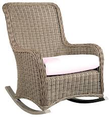 stylish wicker rocker chair with wicker rocking chair wicker