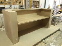 Bespoke Reception Desk Large Reception Desk And Oak Desks For Banbury Park In Walthamstow