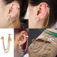 ear cuffs ireland ear cuff chain earrings ebay