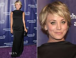 sweeting kaley cuoco new haircut kaley cuoco in camilla and marc 23rd annual a night at sardi s