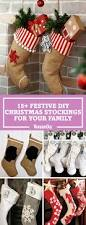 18 diy christmas stockings how to make christmas stockings craft