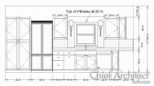 kitchen wall cabinets dimensions creating a cabinet detail