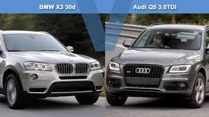 q5 vs bmw x3 bmw x3 30d vs audi q5 3 0tdi review carsguide