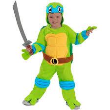 Teenage Mutant Ninja Turtles Halloween Costume Toddlers Teenage Mutant Ninja Turtles Leonardo Costume