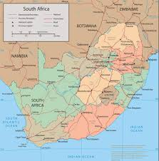 Africa Map With Cities by Map Of South Africa Pictures