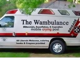 Wambulance Meme - the wambulance millennials mobile crying post all liberals welcome