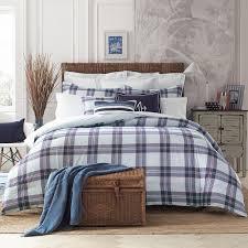 Plaid Bed Set Hilfiger Surf Plaid Comforter Set Reviews Wayfair