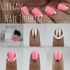 half moon nail design images nail art designs