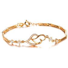 gold bracelet woman images Tengyi new arrival fashion gold color women bracelets luxury full jpg