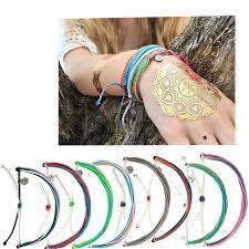 string cord bracelet images Fashion pura vida p friendship bracelet handmade band girls jpg