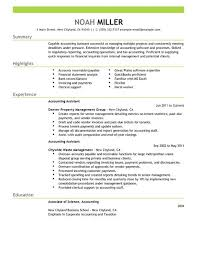 Best Resume Format For Job Best Accounting Assistant Resume Example Livecareer