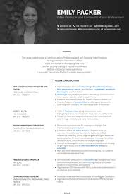 modern resume template free documentary video self shooting video producer and editor resume exle work