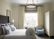 French Country Roman Shades - french country window treatments decorating ideas with roman shade