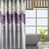 Purple And Gold Shower Curtain Amazon Com Purple Shower Curtains Hooks U0026 Liners Bathroom