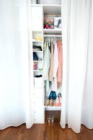 Thin Closet Doors Closet Closet Door Alternatives Inspirations Accordion Doors