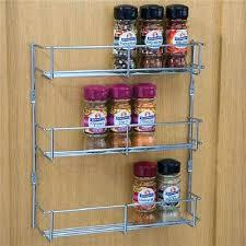 tiered spice racks for kitchen cabinets cabinet storage organizer