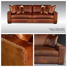 Western Leather Sofas Urban Cowboy Texas Leather Interiors