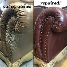 How To Repair Scratched Leather Sofa Leather Chair Scratch Repair Fresh Cat Scratched Leather Sofa