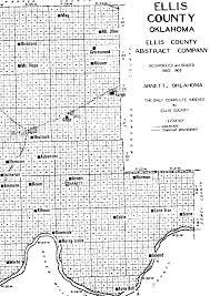 Map Of Fargo Ellis County Cemetery List