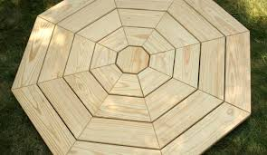 Round Patio Table Plans Free by Table Beautiful Octagon Patio Table Beautiful Outdoor Furniture