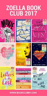 zoella book club novels 2017 bookclubby