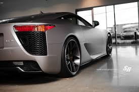 used lexus es vancouver custom wrapped matte silver lexus lfa heading to vancouver show