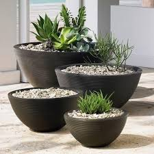 25 beautiful black planters ideas on pinterest outdoor flower