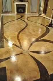Decorative Floor Painting Ideas Brilliant Decorative Floor Painting Ideas Laying A Pebble Patio
