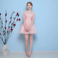 princess prom dresses knee length graduation dresses applique