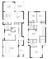 Home Design 3d 2 Storey 10m Wide House Designs Perth Single And Double Storey Apg