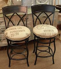Bar Stool Seat Covers Counter Height Swivel Wrought Iron Bar Stools W Feed Seed Coffee