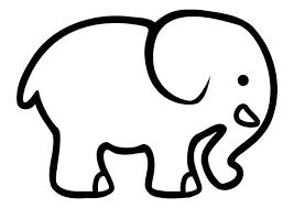 Coloriage léléphant  img 10710