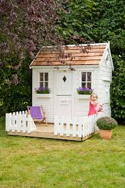 Playhouse Design Garden Playhouse Garden Playhouse With Baby Swing Playhouses