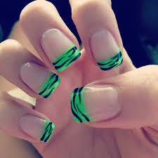 top 25 best neon french manicure ideas on pinterest color