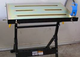 harbor freight welding table where it all happens my workshop 1 of 3 b y o bobber