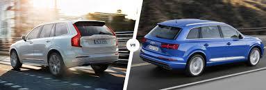 lexus vs audi q7 volvo xc90 vs audi q7 run suv showdown carwow