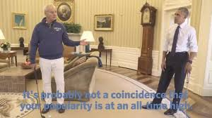 President Obama In The Oval Office Bill Murray And President Obama Play Golf In The Oval Office Wavy Tv
