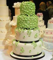 wedding cake decorations affordable green wedding cake decoration in wedding cake