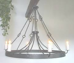 Simple Wrought Iron Chandelier 45 Best Ideas Of Forged Chandeliers