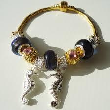 sterling silver european bead bracelet images Gold sterling silver murano bead european bracelet 130 gifts JPG
