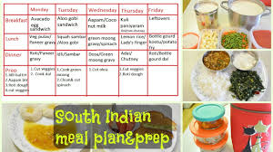 south indian meal plan u0026 prep what we eat in a week indian diet