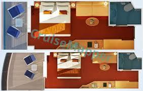 costa diadema cabine costa diadema cabins and suites cruisemapper