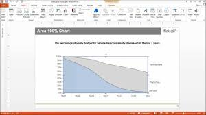 think cell features charting excel data links and slide layout