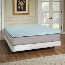 Orthopedic Gel Foam Mattress Topper Bed U0026 Bedding Arctic Sleep Gel Mattress Topper For Bedroom