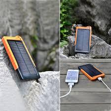 solar portable charger backup power unique gadget