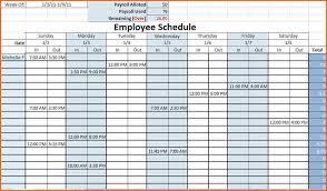 Staffing Schedule Template Excel Work Schedule Template Shift Schedule Shift Work Scheduling