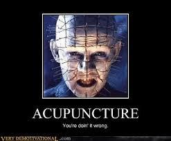 Acupuncture Meme - very demotivational acupuncture very demotivational posters