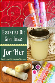 Ideas For A Christmas Gift Essential Oil Gifts For Her Christmas Perfume Spray Recipes With