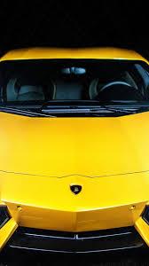 Lamborghini Aventador Front View - cars lamborghini aventador front view yellow wallpaper 101291